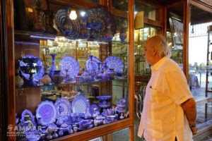 Miguel Littin visited Isfahan on his travel to Iran - historical bazaar - Photo: Mohammadreza Jofar
