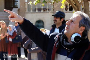 "Abolghasem Talebi behind the scenes of his latest film ""Orphanage of Iran"""