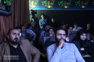 "Iraqi students of Tehran University watch ""The Martyr"" - Photo: Ebrahim Vakili"